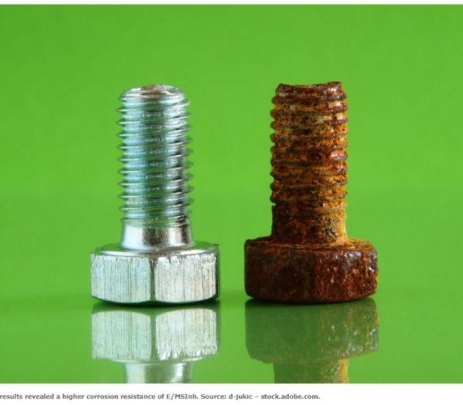 Anti-corrosion behaviour of epoxy composite coatings with silica