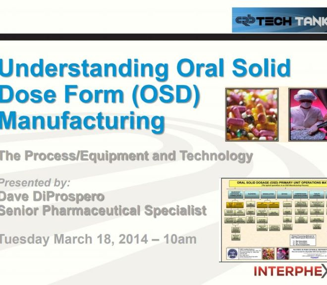 Understanding Oral Solid Dose Form (OSD) Manufacturing – Free PDF Download