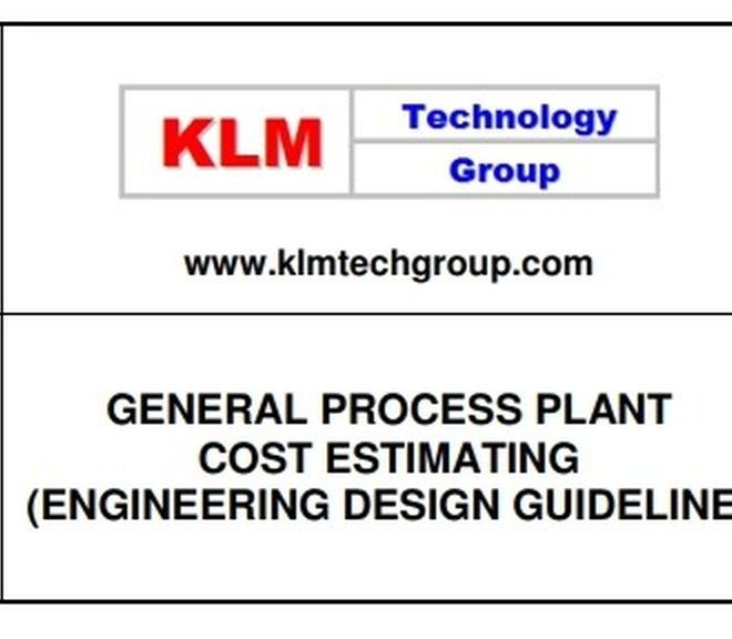 GENERAL PROCESS PLANT COST ESTIMATING