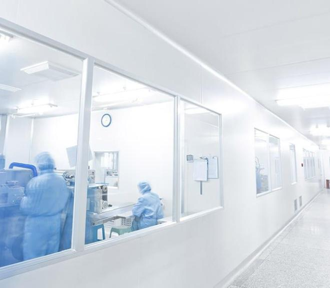 Cleanroom ensures product quality