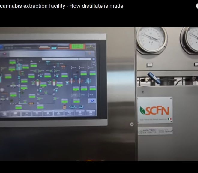 Tour a cannabis extraction facility – How distillate is made