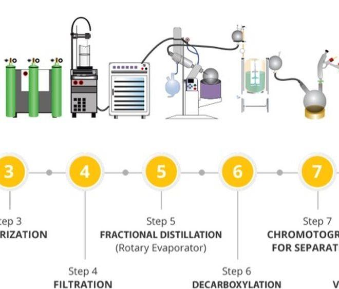Making Refined Cannabis Vape Oils & Distillates