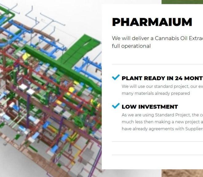 PHARMAIUM – WE BUILT CANNABIS OIL EXTRACTION PLANTS