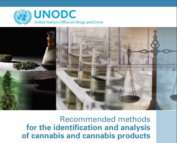 Recommended methods for the identification and analysis of cannabis and cannabis products