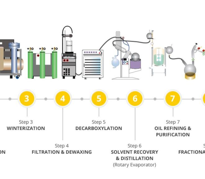 CANNABIS: FULL CO2 EXTRACTION PROCESS, SEED TO HIGH PURITY EXTRACTIONS