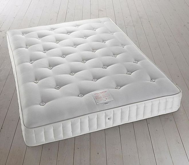 100 percent recyclable mattress filled with cannabis