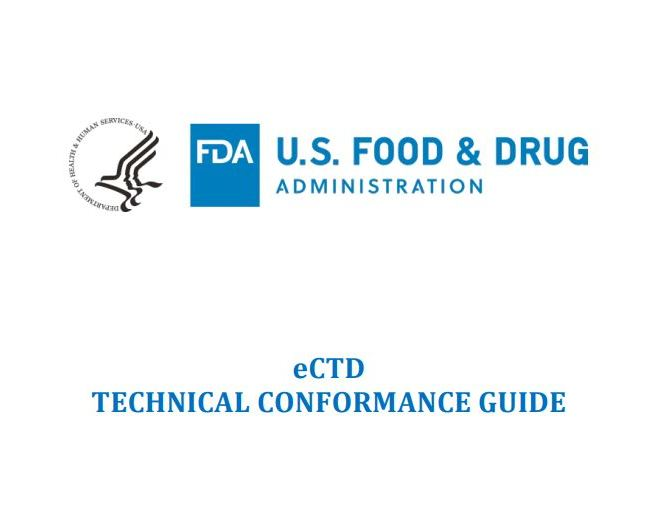 FDA: eCTD TECHNICAL CONFORMANCE GUIDE – free PDF download