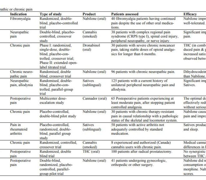 Review on clinical studies with cannabis and cannabinoids 2005-2009