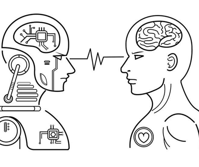 The experiment: human versus machine