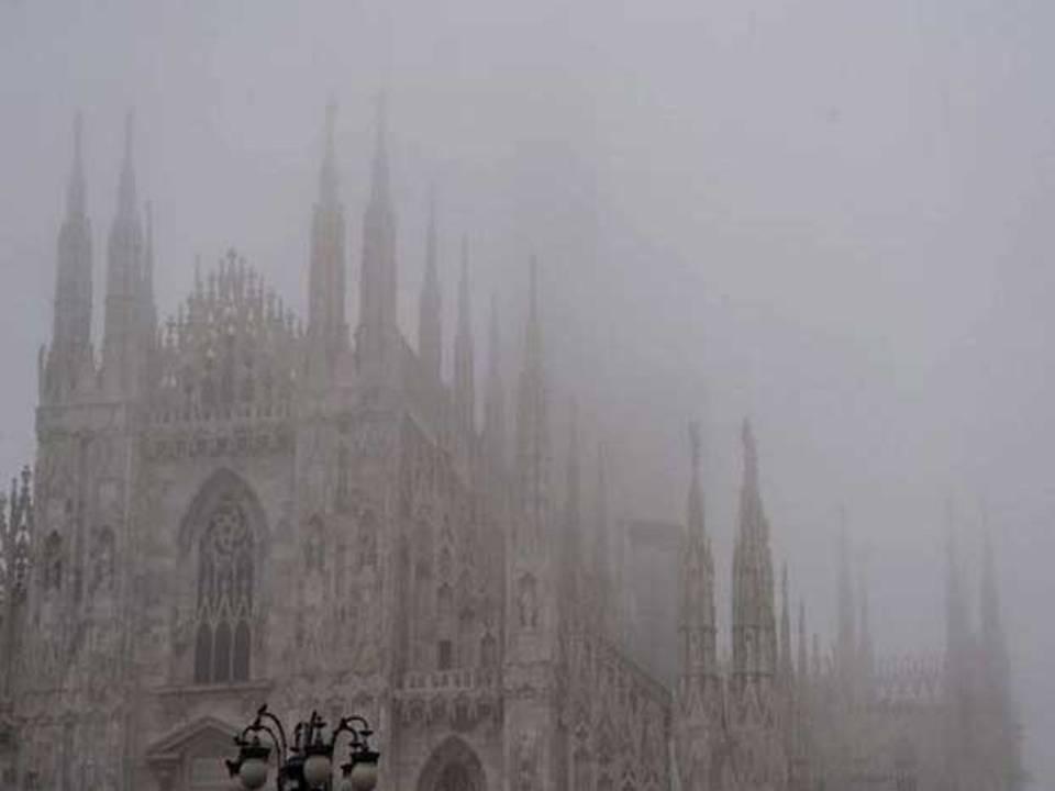 nebbia milano