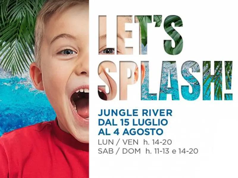 let's splash jungle river