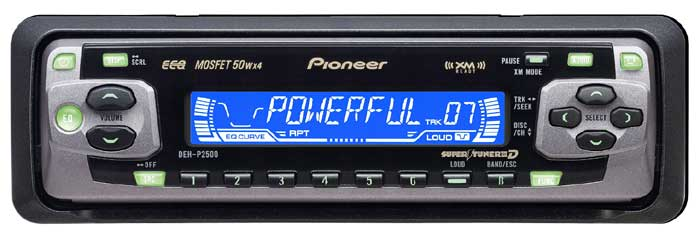 Pioneer DEH P2500 CD Receiver Download Instruction Manual Pdf