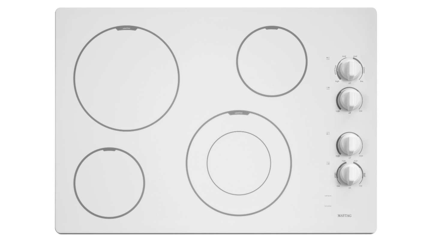 Maytag MEC7430BW Electric Cooktop download instruction