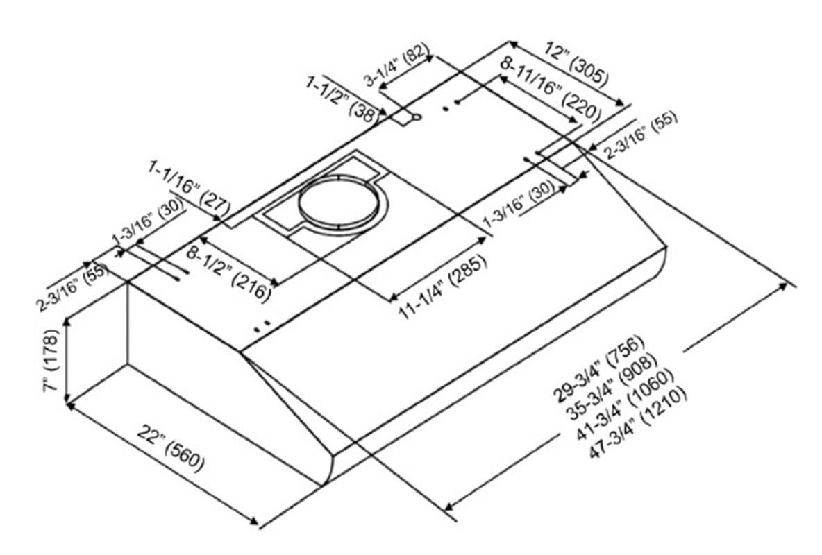 KOBE CH2742SQB-5 Range Hood download instruction manual pdf