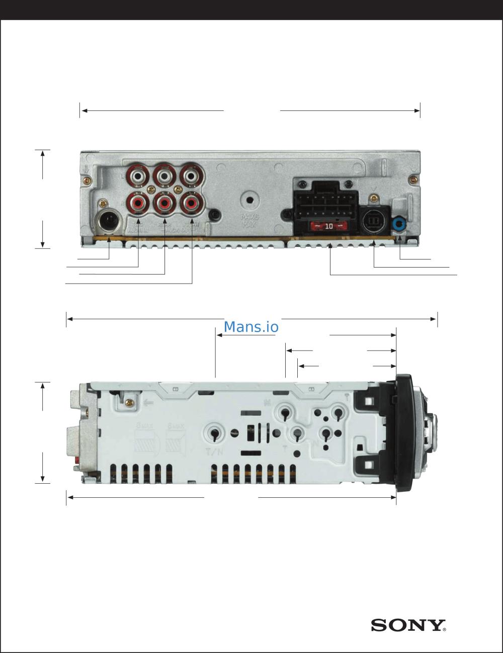 medium resolution of sony cdx f5500 wiring diagram wiring diagram h8 sony xplod stereo wiring diagram sony xav 60 wiring diagram