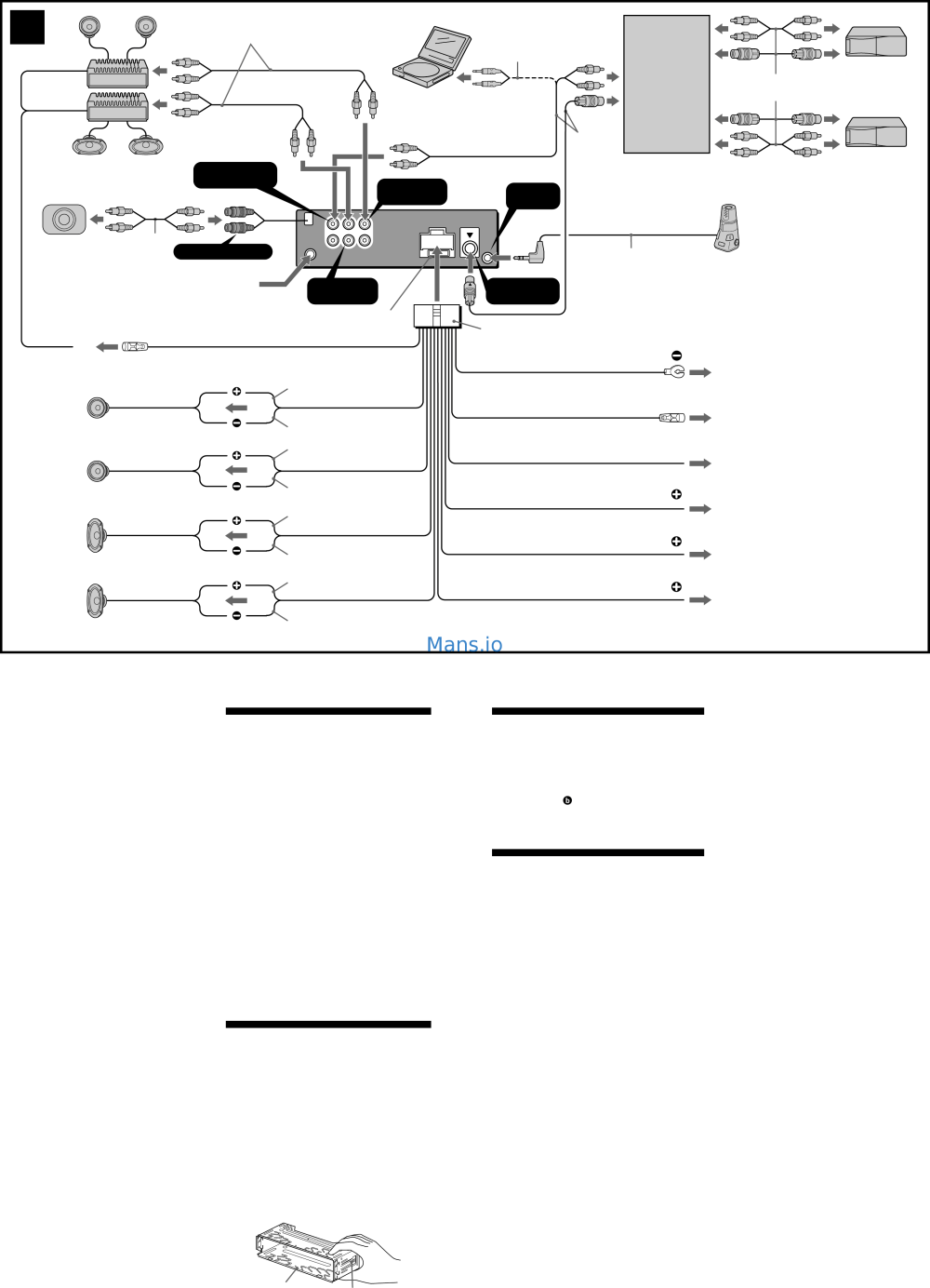 medium resolution of sony cdx fw570 wiring diagram wiring diagram blog sony cdx fw570 installation connection instructions page 2