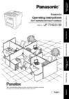 Panasonic UF-7100 Fax download instruction manual pdf
