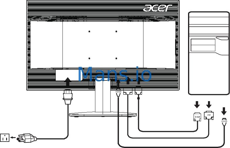 Acer KA220HQ [19/27] Installation