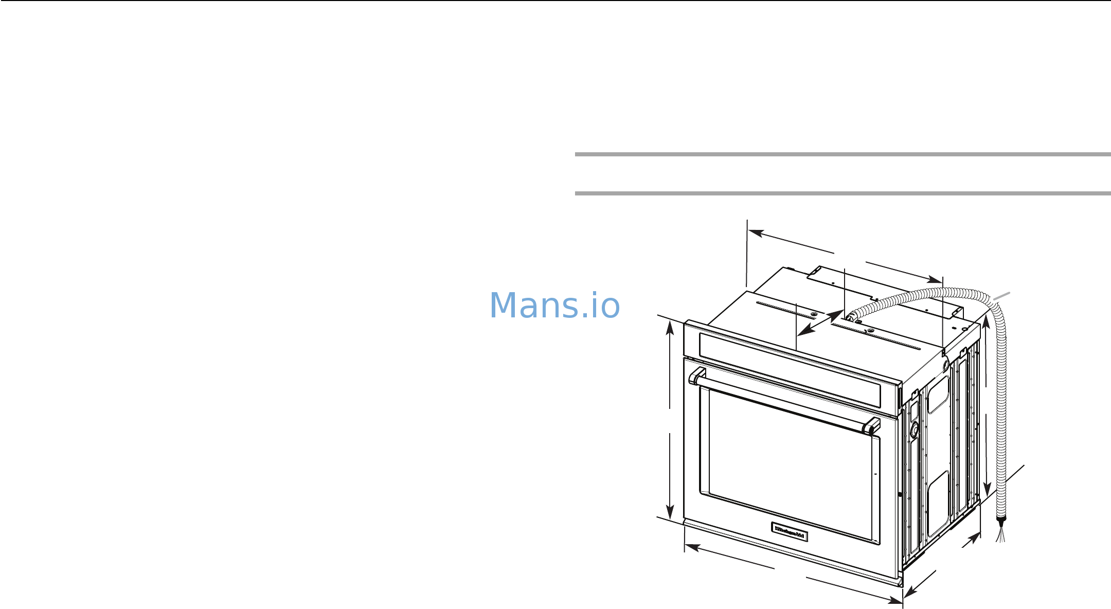 KitchenAid KODE300ESS Installation Guide Page: 3