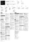 Sony SA-FT7ED Subwoofer download instruction manual pdf