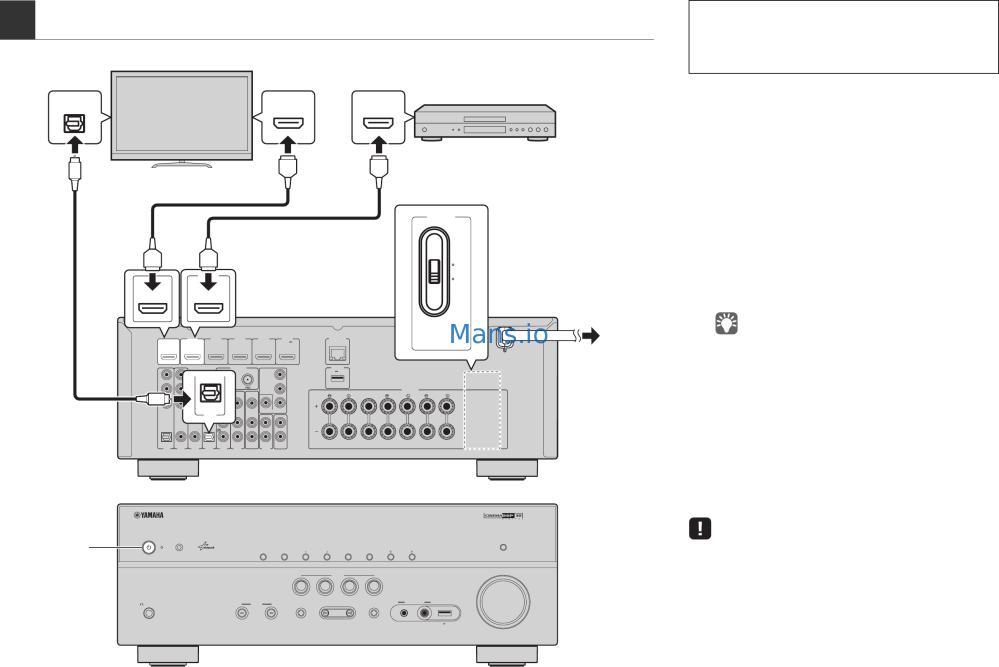 medium resolution of  array yamaha rx v575 easy setup guide page 5 rh mans io