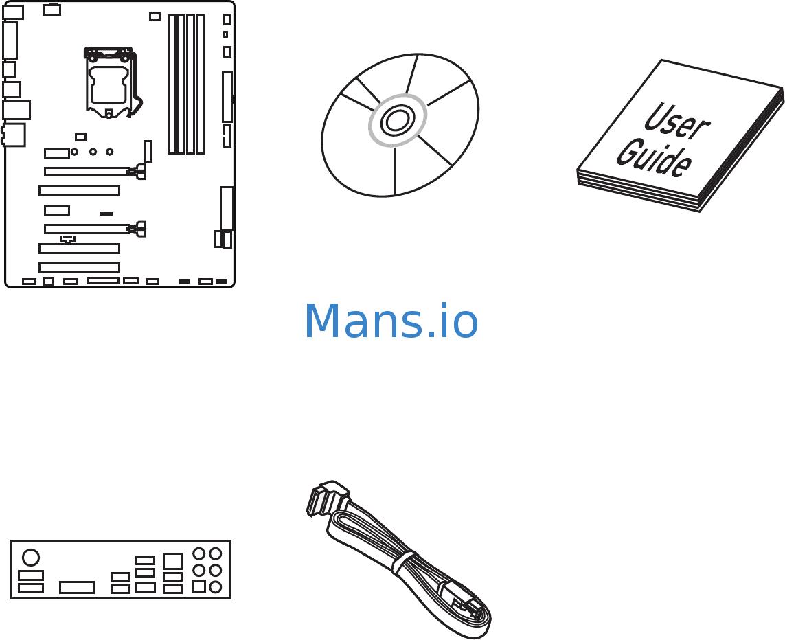MSI H170 GAMING M3 Manual Page: 1