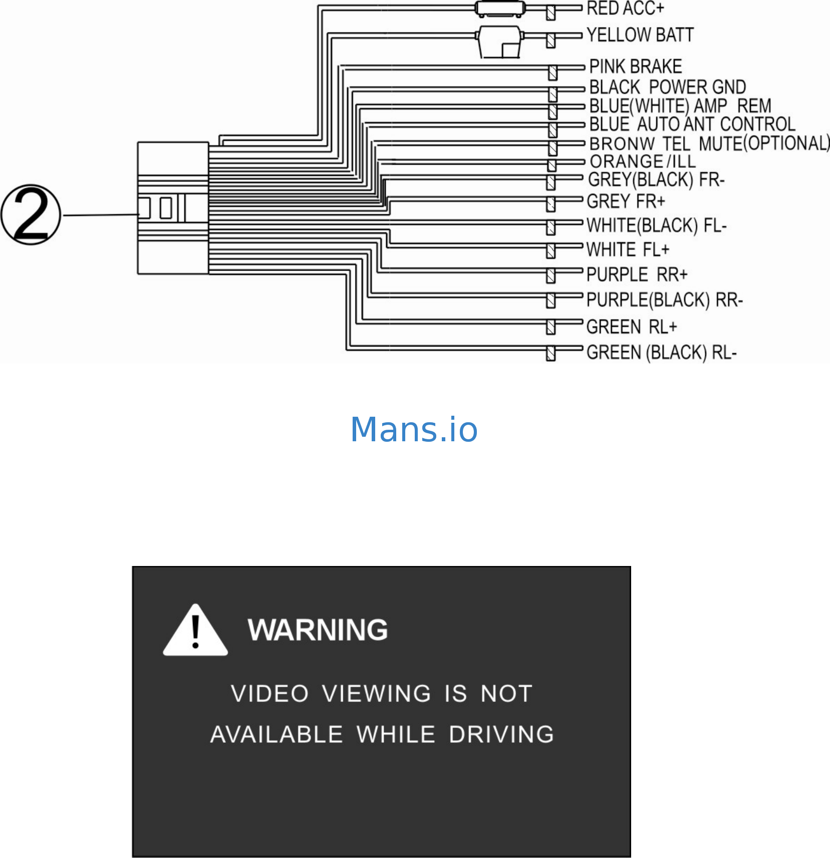 Soundstream Vir 7830b Wiring Diagram