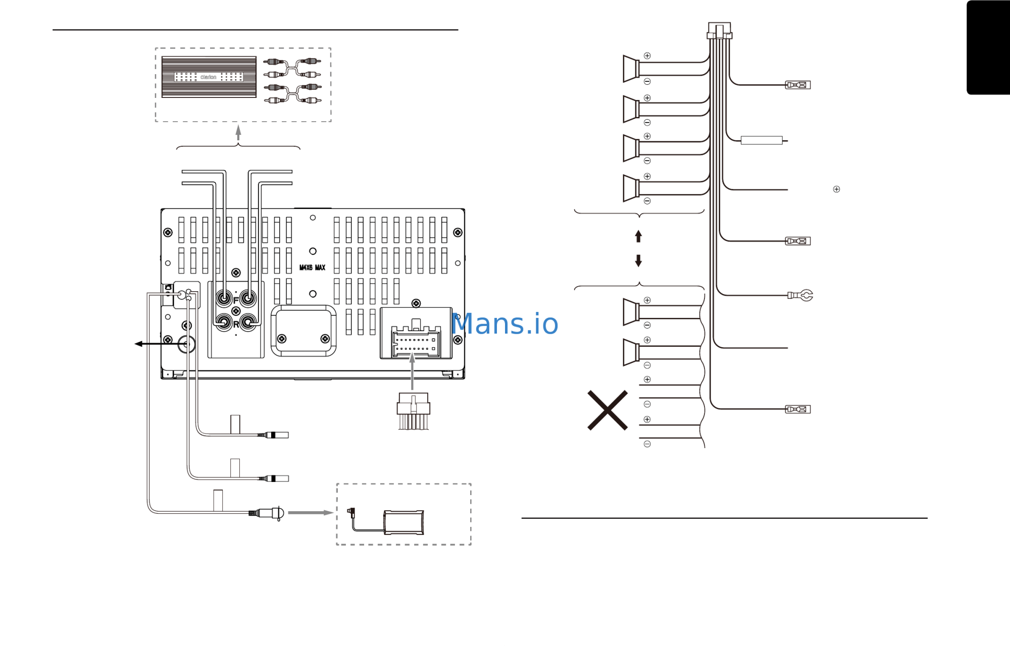 hight resolution of 16 pin wiring diagram clarion dxz655mp images gallery