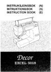 Janome Decor Excel Pro 5018 Decorating Ideas