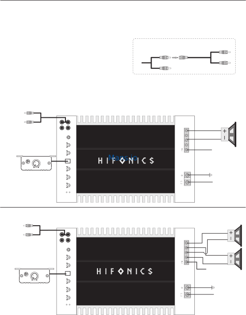 small resolution of hifonics bre1600 1d user manual page 9 rh mans io hifonics brutus wiring diagram hifonics thor