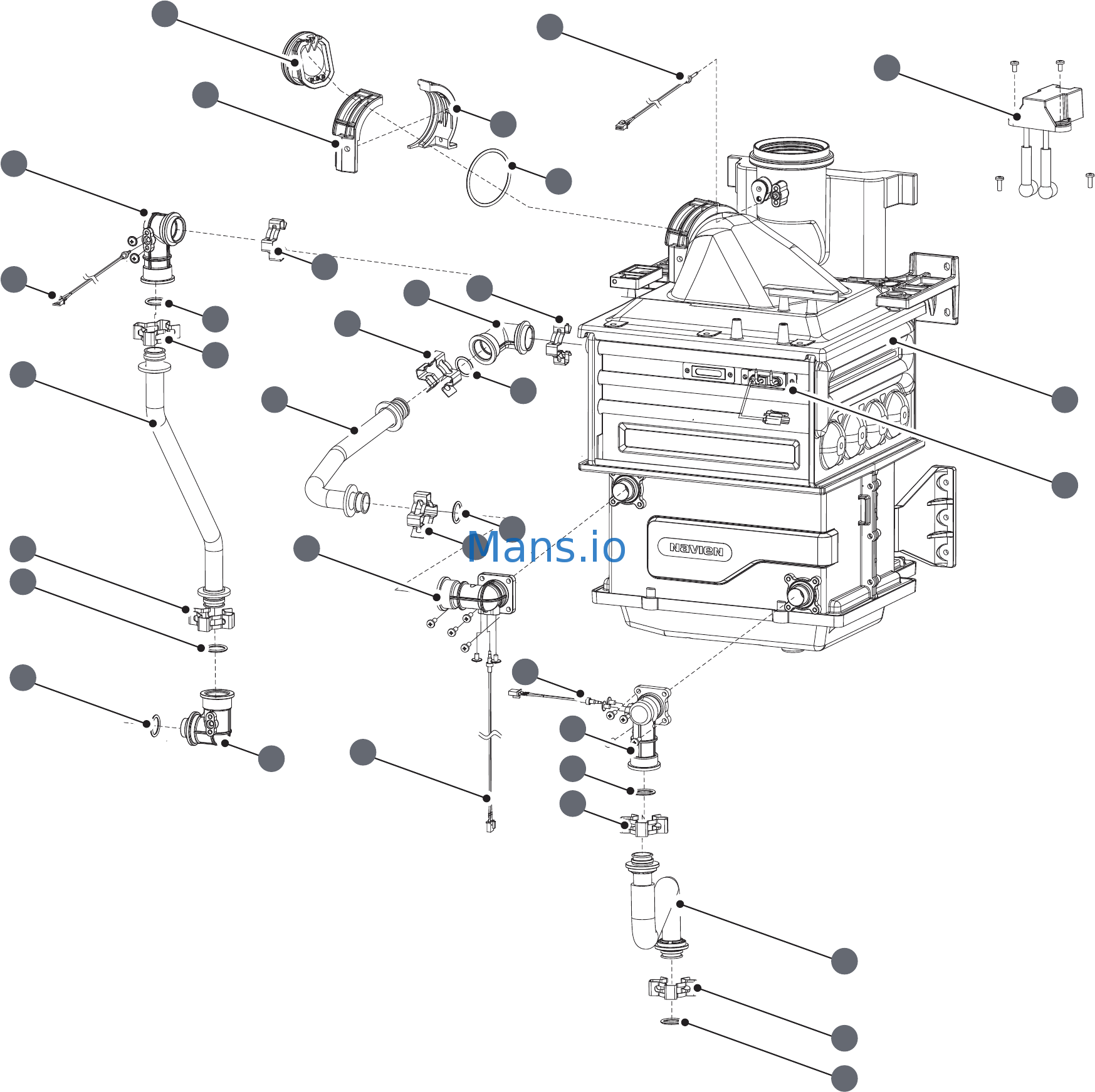 Navien NPE-240S Installation Manual Page: 59