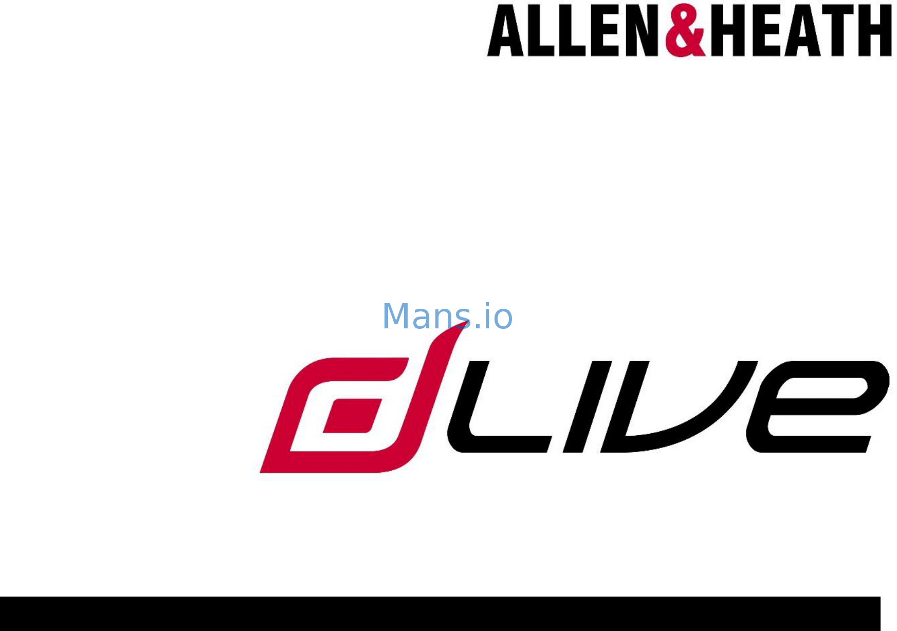Allen & Heath dLive C3500 User Manual Page: 1