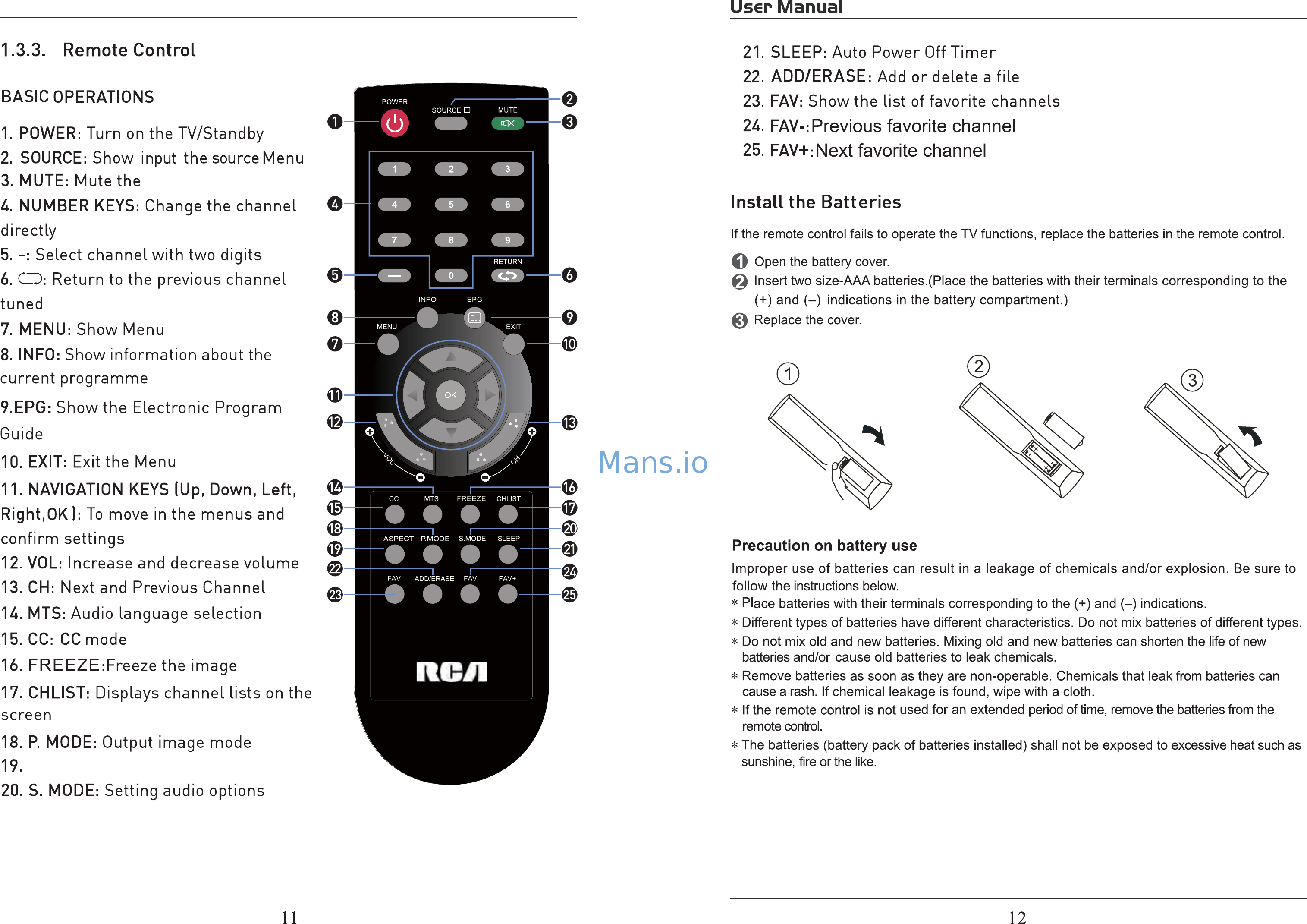 RCA RLDED4016A-B User Manual Page: 7