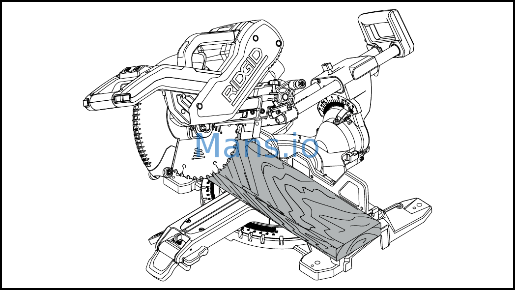 RIDGID MS255SR Use and Care Manual Page: 24