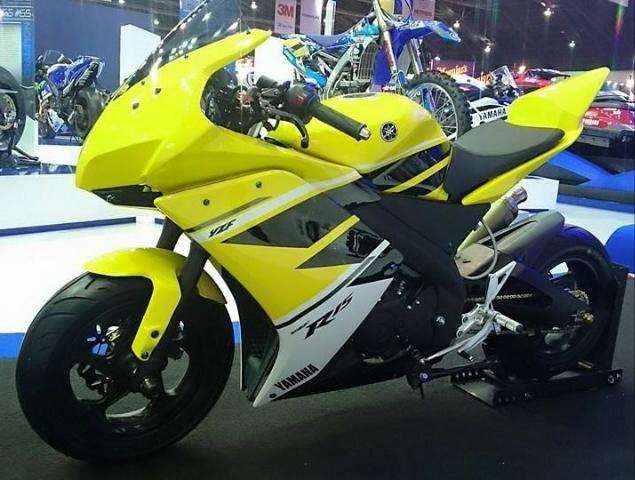 Galeri Modifikasi Motor dengan Warna Kuning Hitam ala