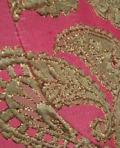 vintage pink fabric
