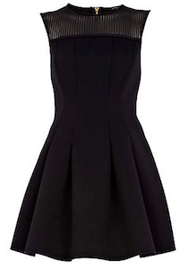 River Island poly dress
