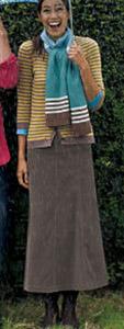 Boden cord skirt