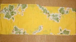 yellow yukata