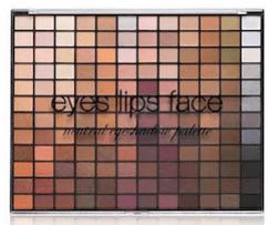 ELF 144-colour palette in neutrals