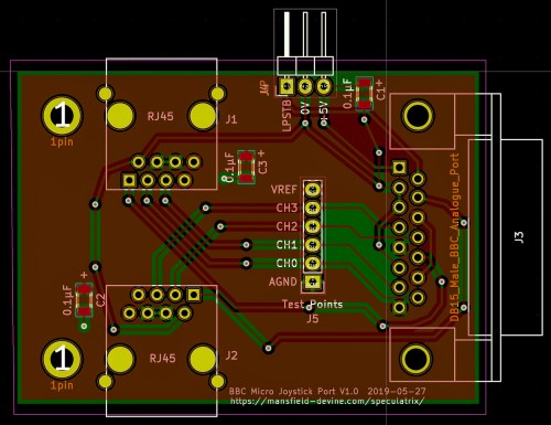 small resolution of but that meant routing traces for all the 0v connections i got there in the end but not without a couple of ugly hacks
