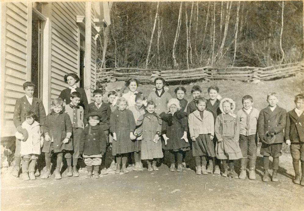Gurleyville School 1910-1911