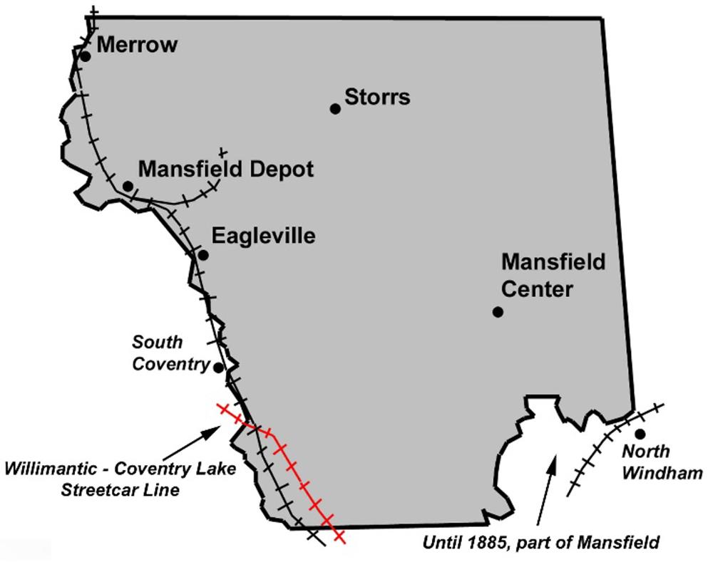 Train Map Mansfield