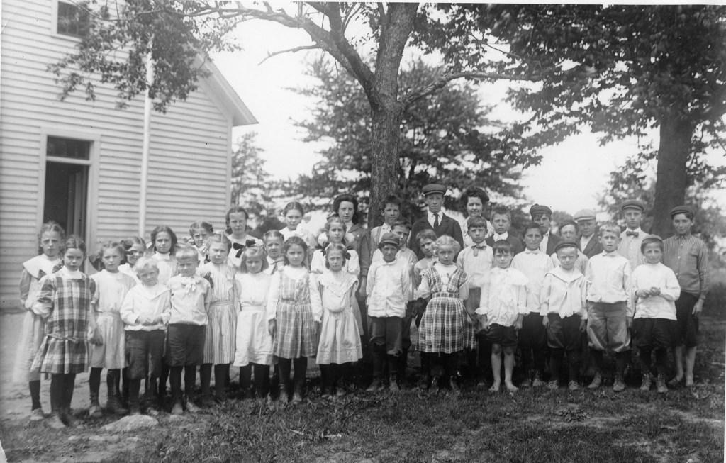 Dog Lane School students