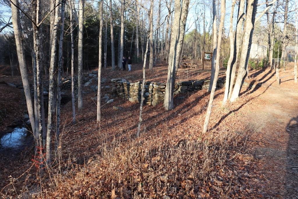 The Gurley-Mason Mill ruins