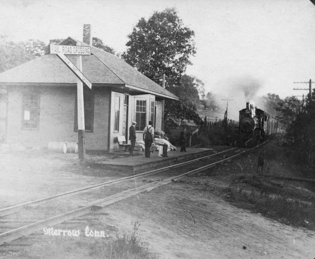 Merrow Train Depot