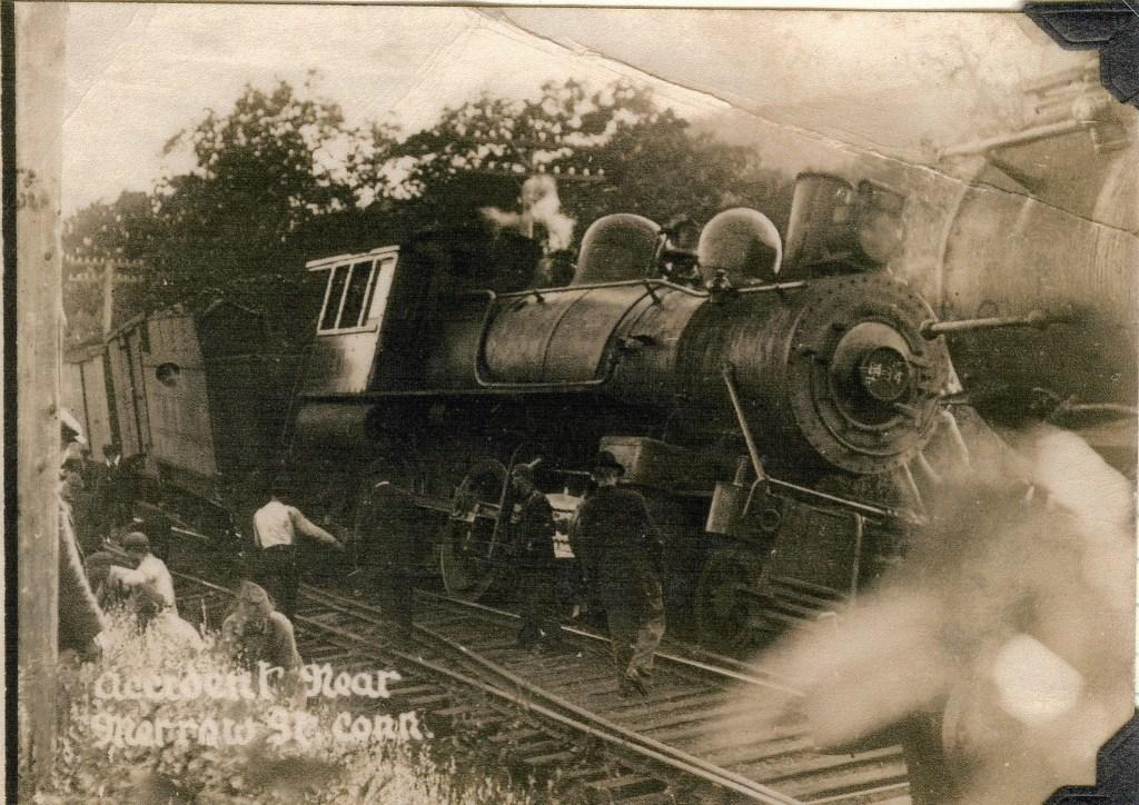 Merrow Train Depot derailment
