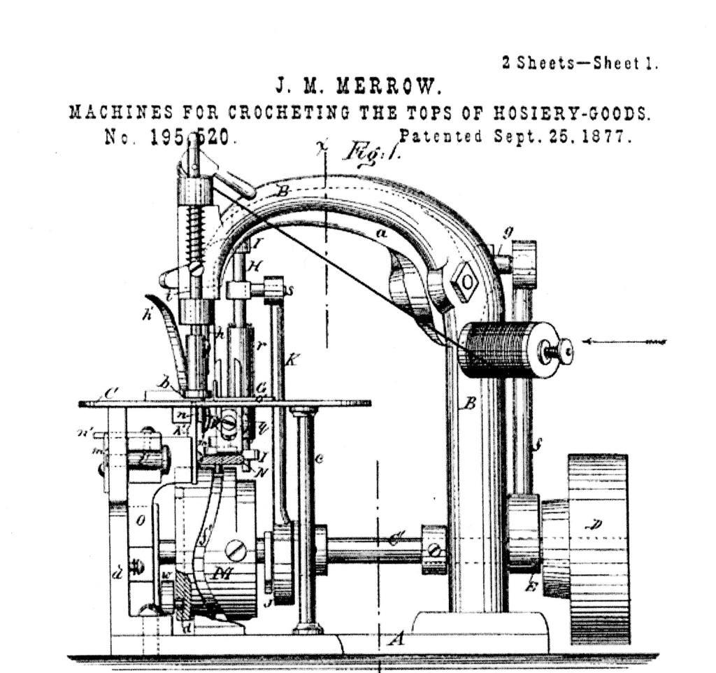 Joseph Merrow Patent
