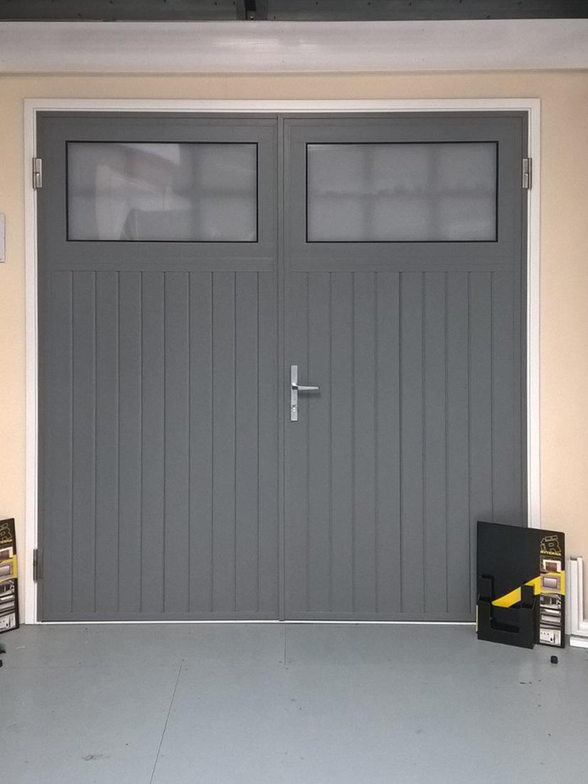 Swing doors or side hinged garage doors in mansfield