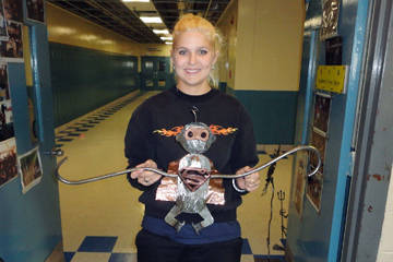 Assabet Valley Metal Fabrication Students learn to serve